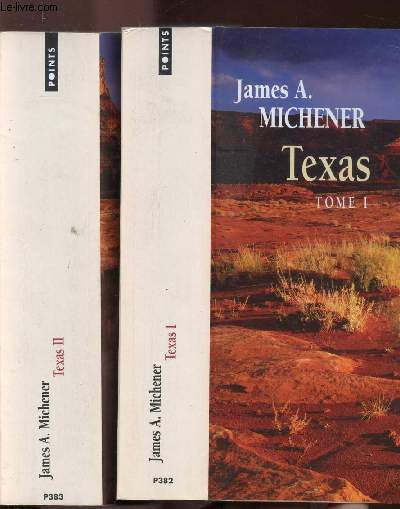 TEXAS - 2 VOLUMES - TOMES I+II - COLLECTION POINTS N°P382+383