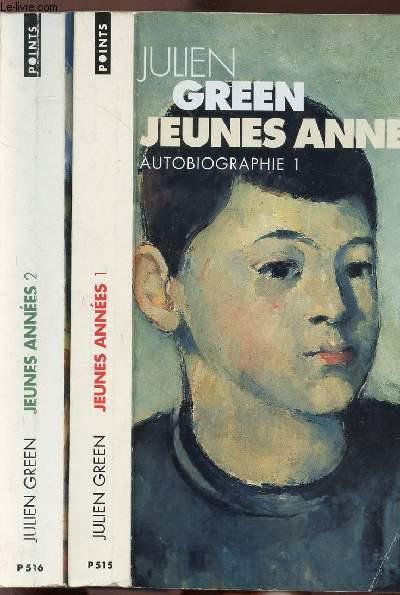 JEUNES ANNEES - 2 VOLUMES - TOMES I+II - AUTOBIOGRAPHIE - COLLECTION POINTS ROMAN N°P 515+516