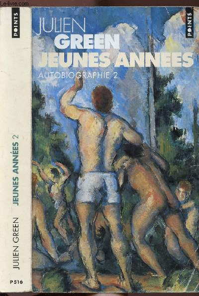 JEUNES ANNEES - TOME II - AUTOBIOGRAPHIE - COLLECTION POINTS ROMAN N°P516