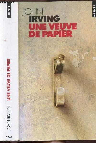 UNE VEUVE DE PAPIER - COLLECTION POINTS ROMAN N°P763