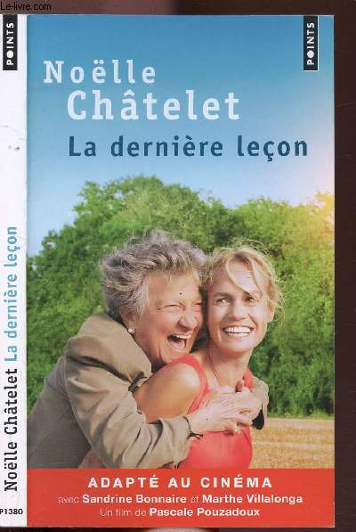 LA DERNIER LECON - COLLECTION POINTS ROMAN N°P1380