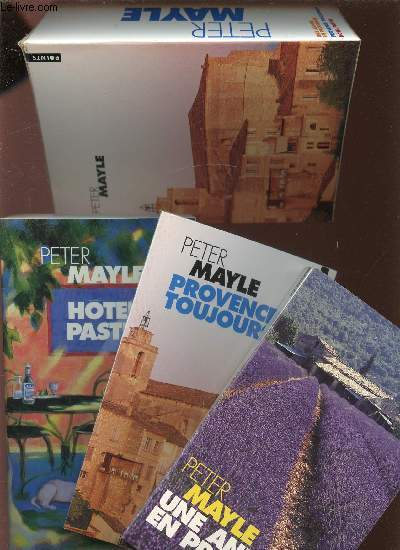 3 VOLUMES / PROVENCE TOUJOURS - HOTEL PASTIS - UNE ANNEE EN PROVENCE - COLLECTION POINTS ROMAN N°P252+367+506