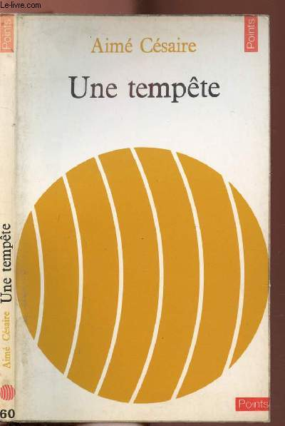UNE TEMPETE - COLLECTION POINTS LITTERATURE N°60