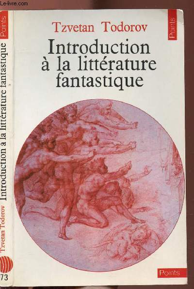 INTRODUCTION A LA LITTERATURE FANTASTIQUE - COLLECTION POINTS LITTERATURE N°73