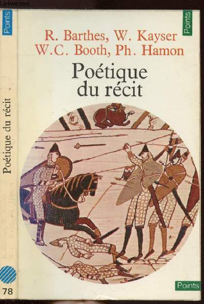 POETIQUE DU RECIT - COLLECTION POINTS SCIENCES HUMAINES N°78