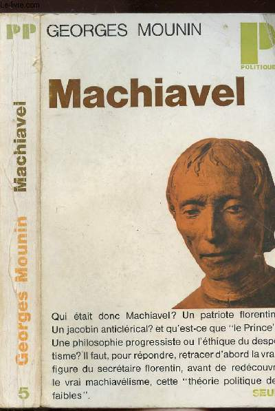 MACHIAVEL - COLLECTION POLITIQUE N°5