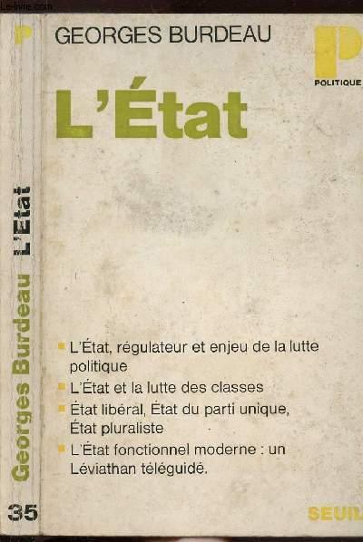 L'ETAT- COLLECTION POLITIQUE N°35