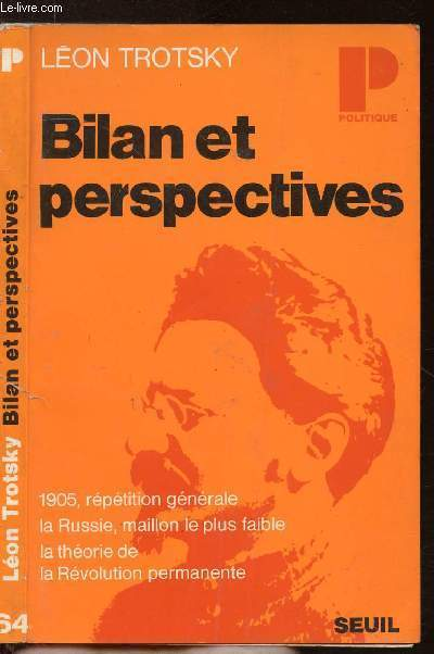 BILAN ET PERSPECTIVES- COLLECTION POLITIQUE N°64