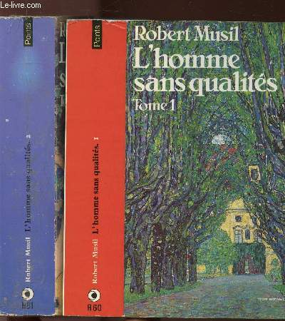 L'HOMME SANS QUALITE - 2 VOLUMES - TOMES I+II - COLLECTION POINTS N°R60+61