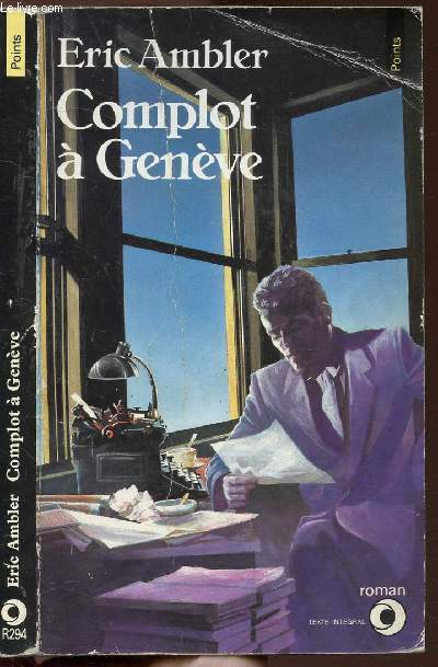 COMPLOT A GENEVE - COLLECTION POINTS N°R294