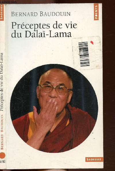 PRECEPTES DE VIE DU DALAI-LAMA - COLLECTION POINTS SAGESSE N°Sa182
