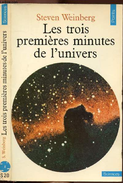 LES RTOIS PREMIERES MINUTES DE L'UNIVERS - COLLECTION POINTS SCIENCES N°S20