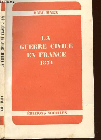 LA GUERRE CIVILE EN FRANCE 1871 - LA COMMUNE DE PARIS