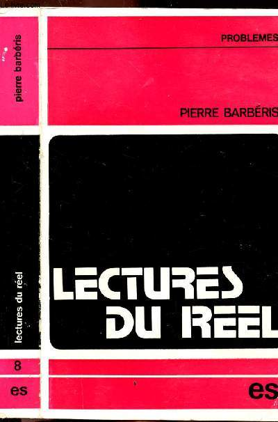 LECTURES DU REEL  - COLLECTION PROBLEMES N°8