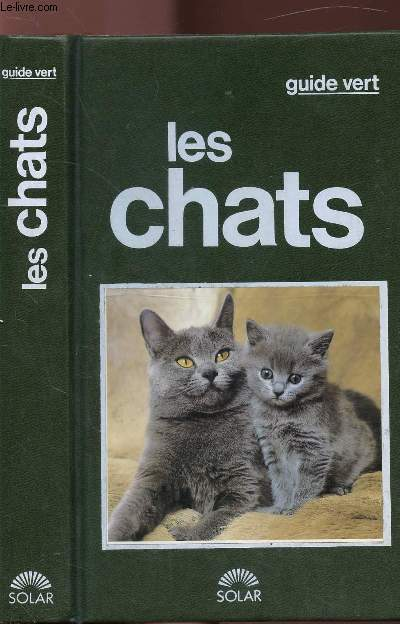 LES CHATS - COLLECTION GUIDE VERT