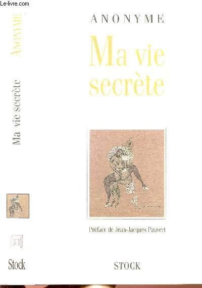 MA VIE SECRETE - 1 VOLUME - 2 TOMES - TOMES I+II