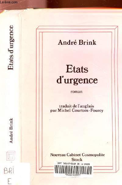 ETATS D'URGENCE