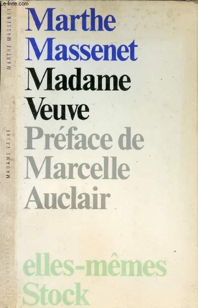 MADAME VEUVE