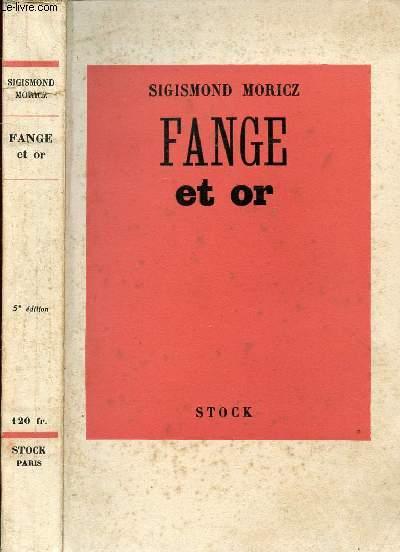 FANGE ET OR