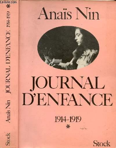 JOURNAL D'ENFANCE