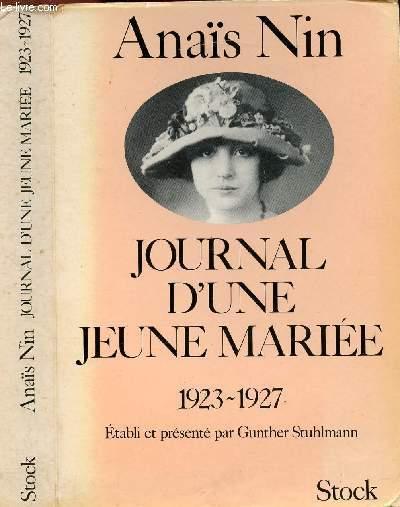 JOURNAL D'UNE JEUNE MARIEE