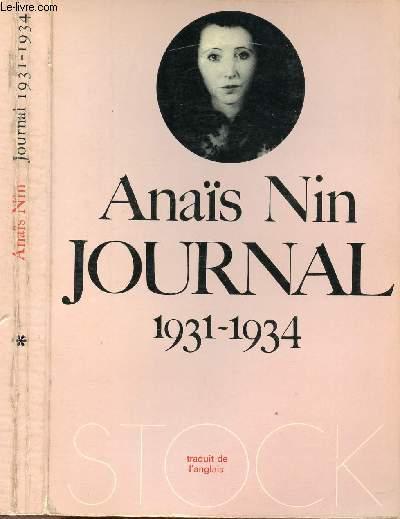 JOURNAL 1931 - 1934