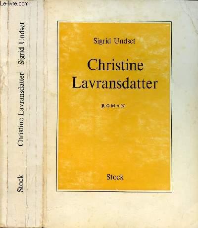 CHRISTINE LAVRANSDATTER