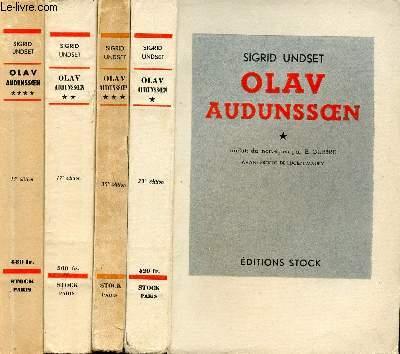 OLAV AUDUNSOEN TOME I, II, III & IV
