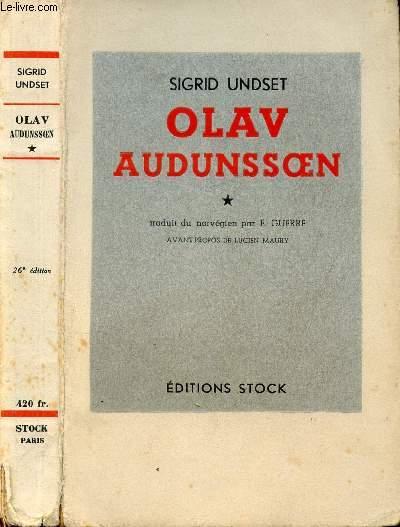 OLAV AUDUNSOEN TOME I
