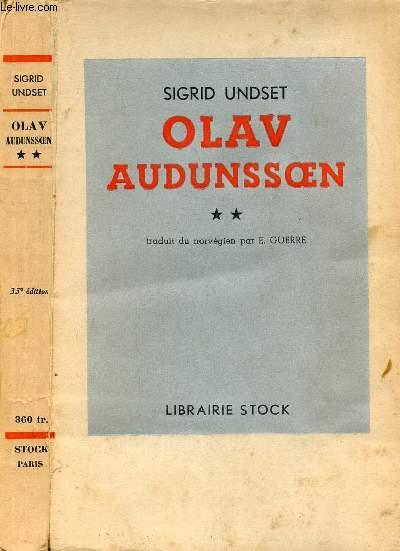 OLAV AUDUNSOEN TOME II
