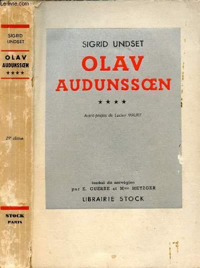 OLAV AUDUNSOEN TOME IV