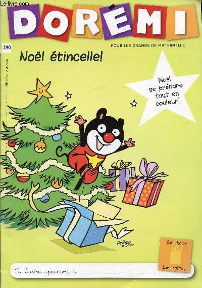 N 290 Doremi Pour Les Grands De Maternelle Noel Se Prepare Tout En Couleur