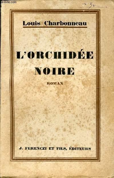 L'ORCHIDEE NOIRE