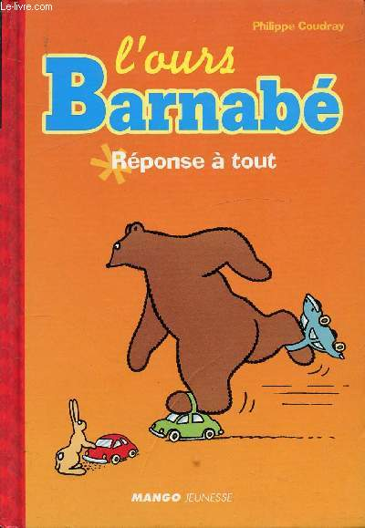 L'OURS BERNABE * REPONSE A TOUT