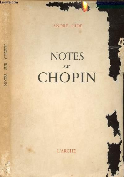 NOTES DE CHOPIN