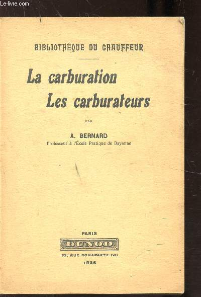 LA CARBURATION - LES CARBURATEURS -