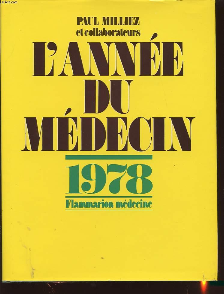 L ANNEE DU MEDECIN 1978