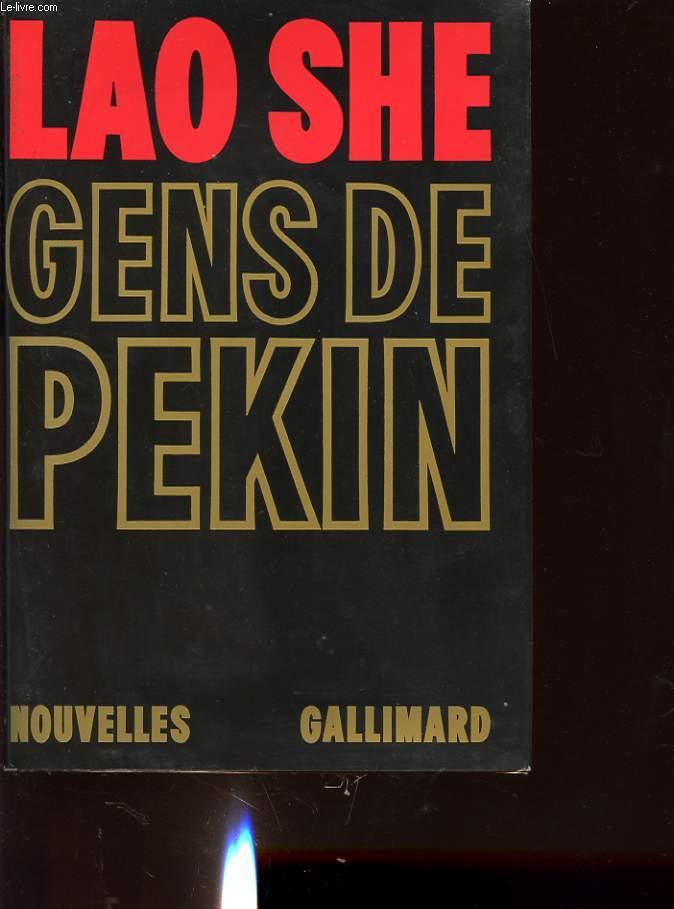GENS DE PEKIN