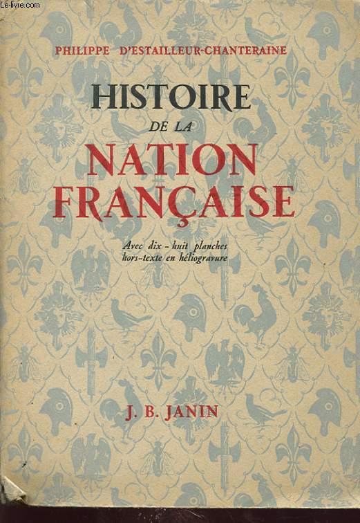 HISTOIRE DE LA NATION FRANCAISE