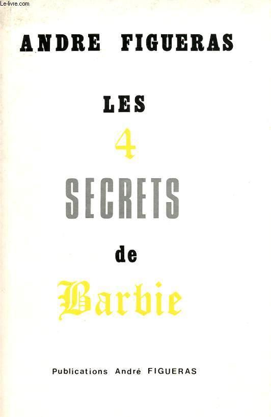 LES 4 SECRETS DE BARBIE