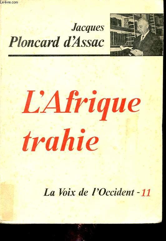 L AFRIQUE TRAHIE