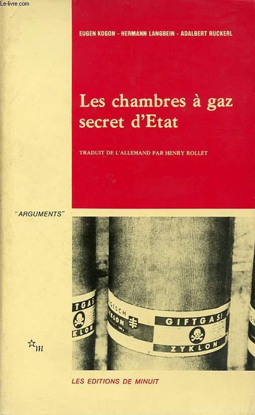 LES CHAMBRES A GAZ SECRET D ETAT