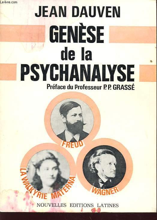 GENESE DE LA PSYCHANALYSE