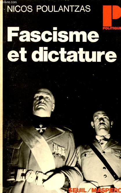 FASCISME ET DICTATURE