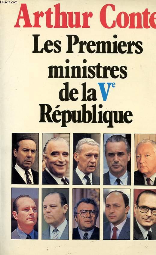 LES PREMIERS MINISTRES DE LA Ve REPUBLIQUE