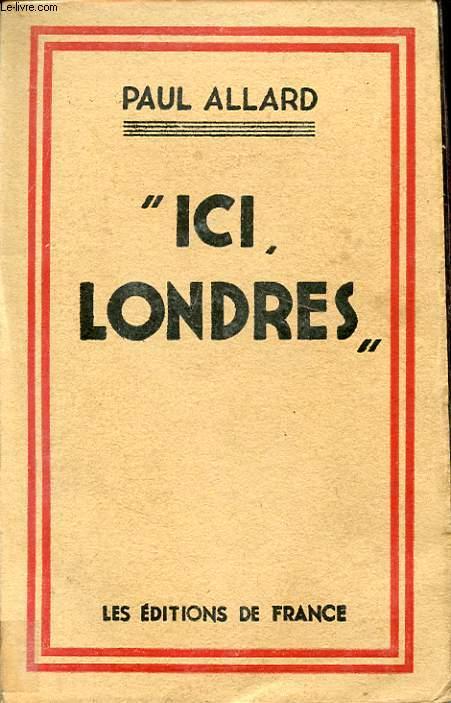 ICI LONDRES
