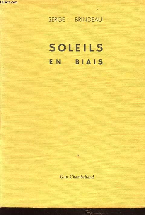 SOLEILS EN BIAIS avec envoi de l auteur