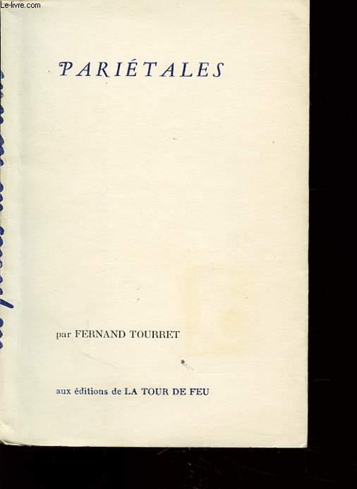 PARIETALES  avec un envoi de l auteur.
