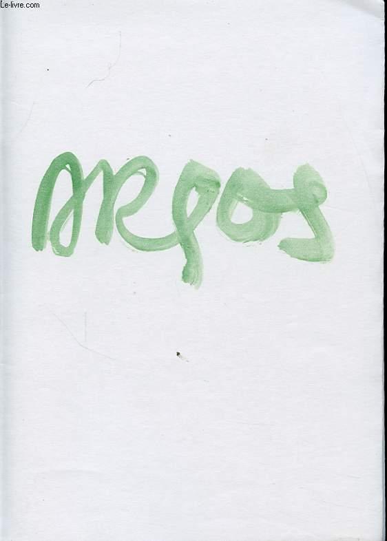 PETITS ELEMENTS POUR UN BESTIAIRE Avec un envoi et une lettre de l auteur.