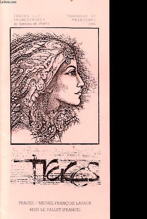TRACES 113 EQUINOXE DE PRINTEMPS